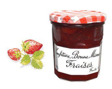 confiture de fraise 1 pot